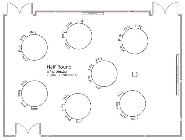 Half Round Style