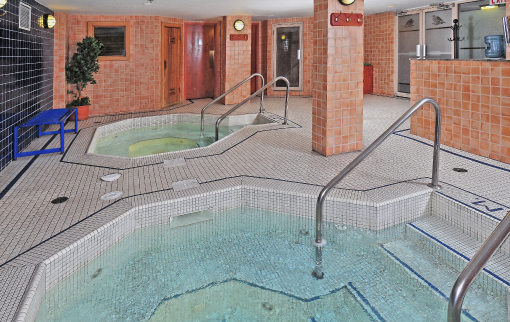 Hot Tubs, Steam Room, Sauna