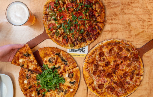 Meatball Pizza & Pasta